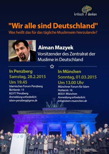 IGP Veranstaltung: Vortrag von Aiman Mazyek