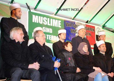 Kundgebung MFI: Steh auf gegen Hass und Gewalt