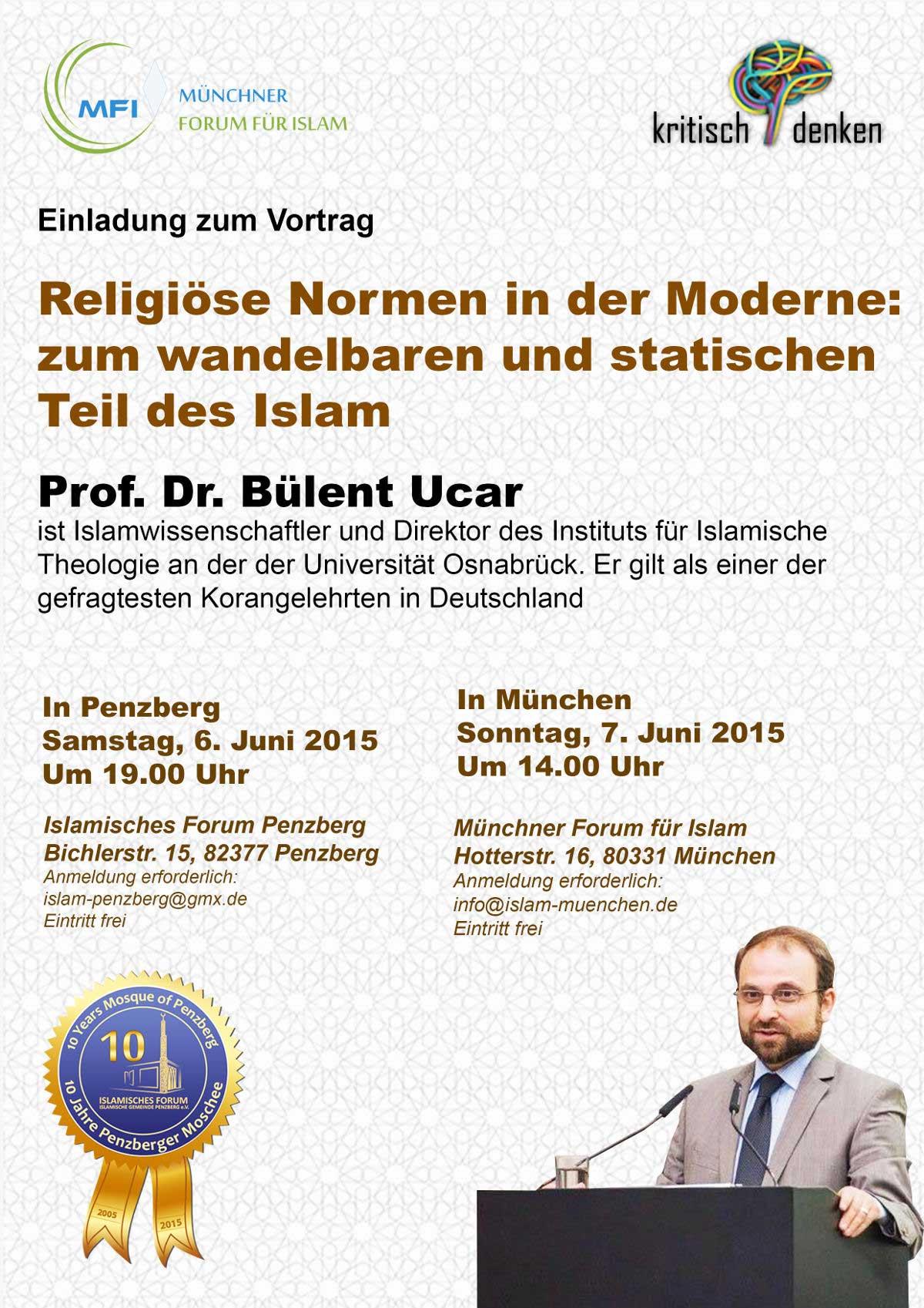 IGP Veranstaltung: Vortrag von Prof. Dr. Bülent Ucar