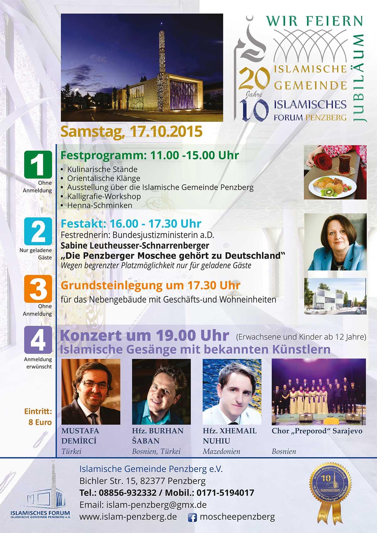 IGP Veranstaltung: Jubiläum 20 Jahre