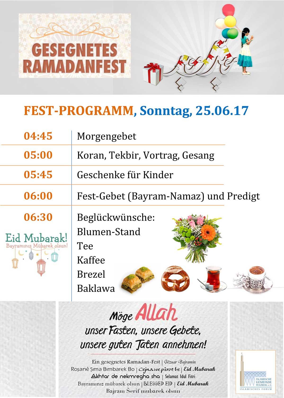 IGP Veranstaltungen: Ramadanfest 2017