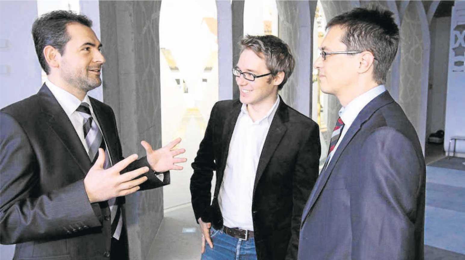 Interview: J. Patzig und W. Schörne mit Imam Idriz