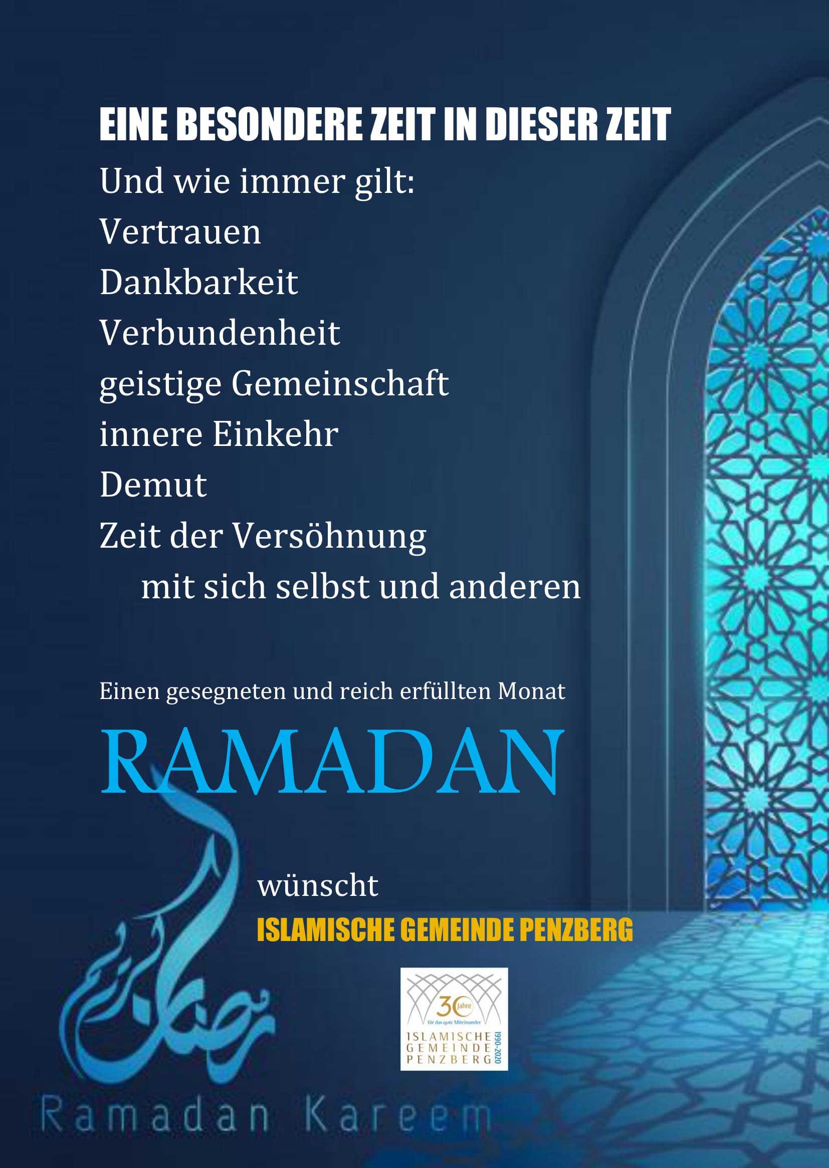 IGP Blog: Ramadan 2020
