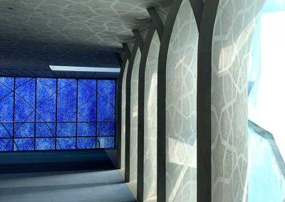 Moschee Penzberg Innenansicht