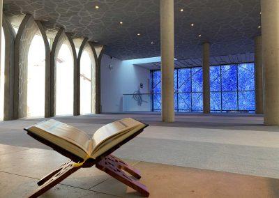Moschee Penzberg Gebetsraum