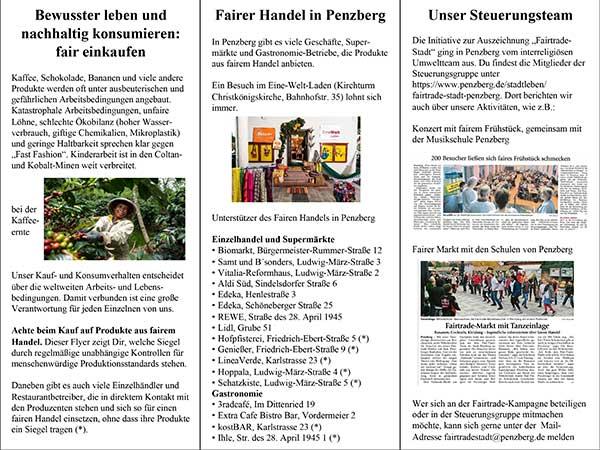 Interreligiöses Umweltteam Penzberg: Flyer Juni 2020
