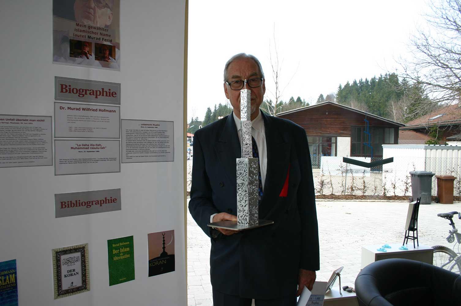 Murad Hoffman über die Moschee in Penzberg