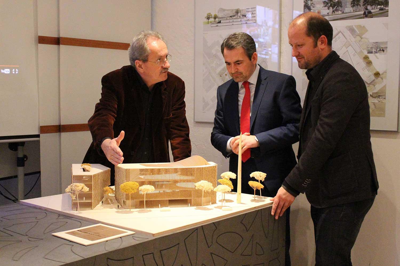 Mit Christian Ude und Alen Jasarevic
