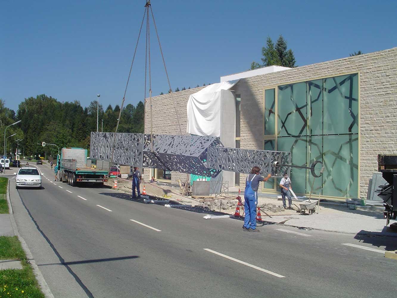IGP Blog: Bau Moschee Minarett