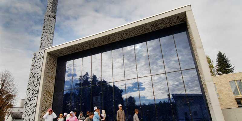 Penzberg'deki Camdan Cami