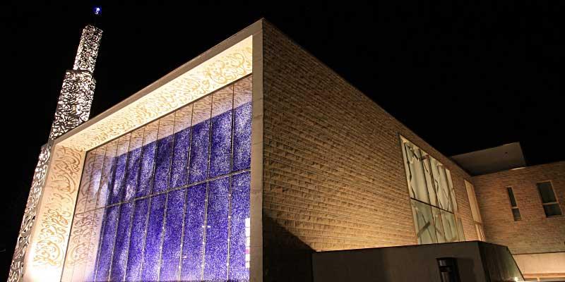 Erste Moschee mit Solaranlage in Deutschland