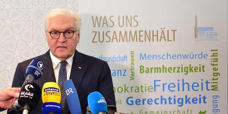 Bundespräsident Frank-Walter Steinmeier zu Besuch