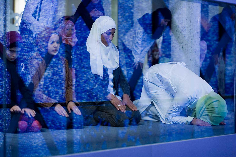 Frauen beim Gebet im IGP