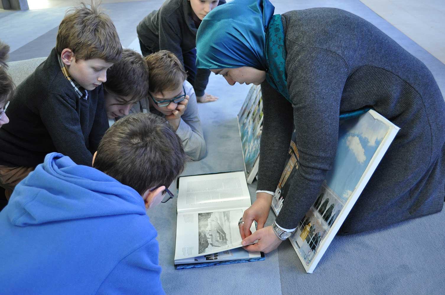 Moschee Penzberg: Führungen mit Kindern