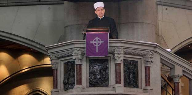 Benjamin Idriz: Kanzelpredigt in der St.-Lukas-Kirche
