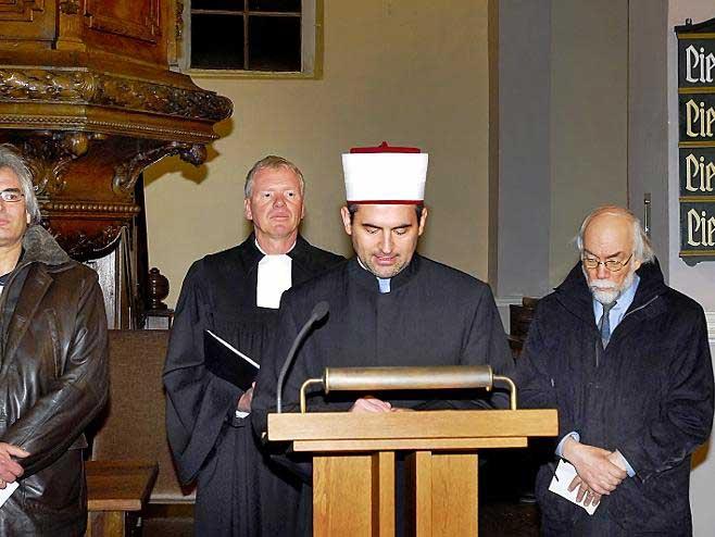 Imam Idriz: Kanzelrede in der Hugenottenkirche Erlangen