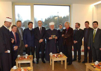 IGP Besucher: Dr. Mustafa Cerić