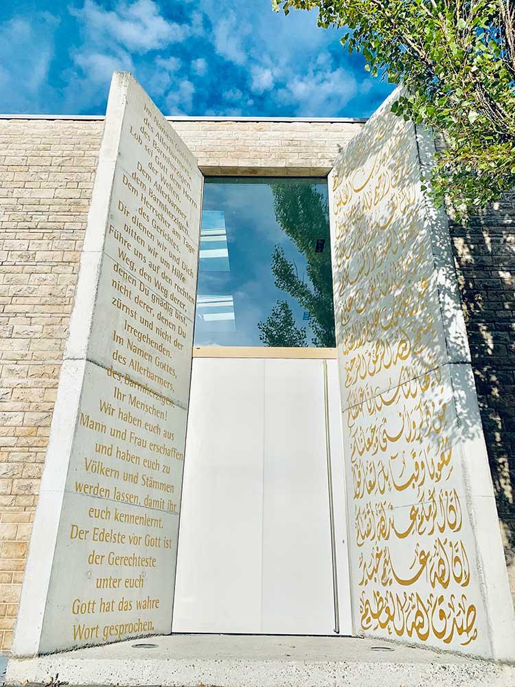 Eingang zur Moschee Penzberg