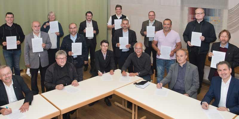 Verlautbarung Pfarrer, Pfarrerinnen und Imame im Landkreis Weilheim-Schongau