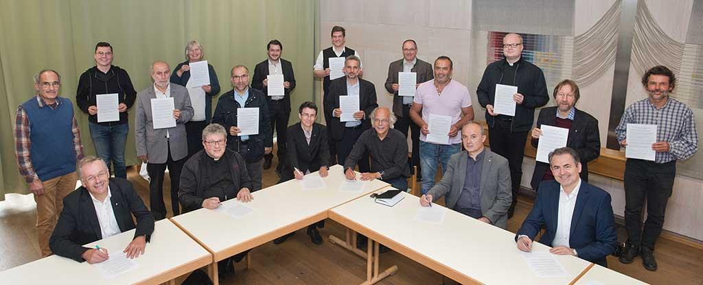 IGP: Verlautbarung Pfarrer, Pfarrerinnen und Imame im Landkreis Weilheim-Schongau