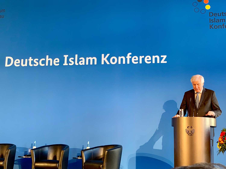 IGP: Imam Idriz spricht in der Deutschen Islamkonferenz