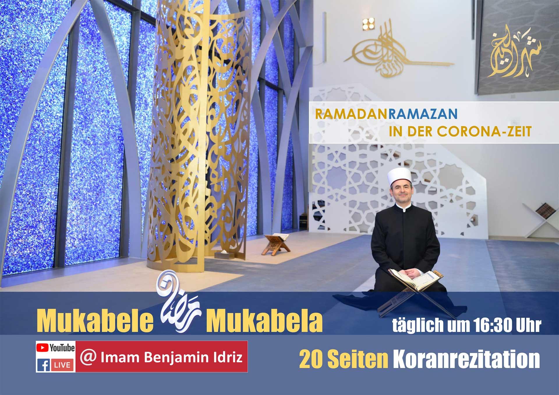 Moschee Penzberg: Mukabela 2021